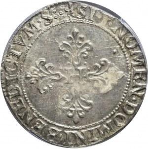 RR-, Henryk Walezy, Frank 1586, Tuluza, menniczy