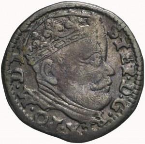 R-, Stefan Batory, Trojak 1586, Wilno