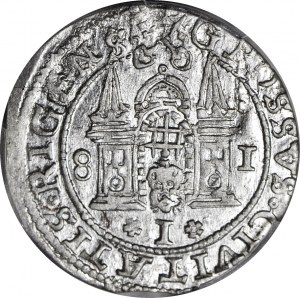 Stefan Batory, Grosz Ryga 1581, MENNICZY