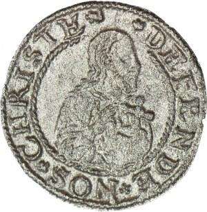 RR-, Stefan Batory, SZELĄG oblężniczy 1577, Goebel, Gdańsk, R3, piękny