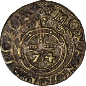 R-, Zygmunt III Waza, Półtorak 1619, fałszerstwo z epoki