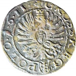 RR-, Zygmunt III Waza, Grosz 1611, fałszerstwo z epoki wysokiej klasy