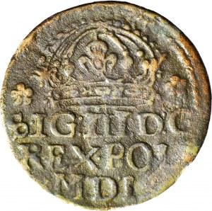 R-, Zygmunt III Waza, Grosz 1614, fałszerstwo z epoki