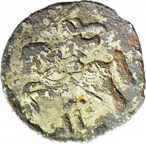 R-, Zygmunt II August, Dwudenar 1570, fałszerstwo z epoki