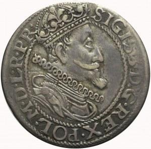 R-, Zygmunt III Waza, Ort 1615, Gdańsk, tarcza gotycka