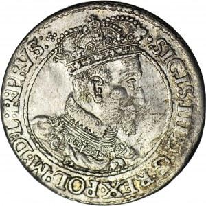 Zygmunt III Waza, Ort 1618, Gdańsk, ładny