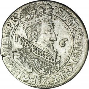Zygmunt III Waza, Ort 1623 Gdańsk, bez przebitki daty
