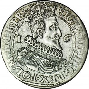Zygmunt III Waza, Ort 1624/3, Gdańsk, L.RP.R, dwukropek między 2:4 - rzadkie