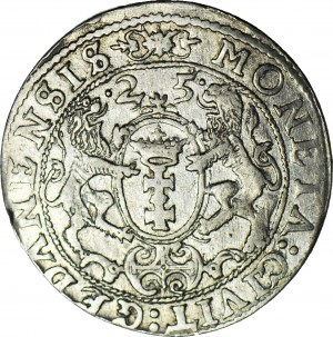 Zygmunt III Waza, Ort 1625, Gdańsk, PR.