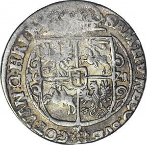 R-, Zygmunt III Waza, Ort 1621, Bydgoszcz, PRV MA, (16) pod popiersiem