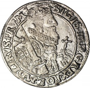 Zygmunt III Waza, Ort Bydgoszcz 1622, błąd VVAN (zamiast VAN), Shatalin R6, rzadki