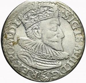 Zygmunt III Waza, Trojak 1592, Malbork