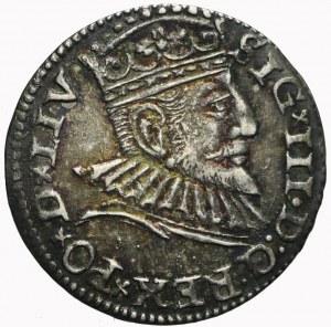 Zygmunt III Waza, Trojak 1593, Ryga