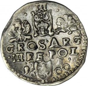 R-, Zygmunt III Waza, Trojak 1600, Lublin, rzadki