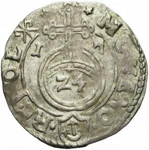 R-, Zygmunt III Waza, Półtorak 1617, Kraków, haki, rzadki
