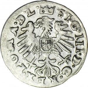 RRR-, Zygmunt III Waza, Grosz Wilno 1009 - błędna data, R8
