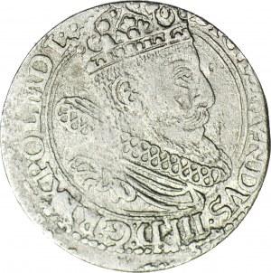 R-, Zygmunt III Grosz 1604 Lewart C, R5, T.6mk