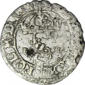 R-, Zygmunt III Waza, Szeląg, Olkusz 1589