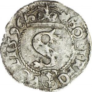 R-, Zygmunt III Waza, Szeląg 1596, Wschowa