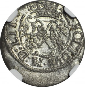 RR-, Zygmunt III Waza, Szeląg 1618 bez herbu