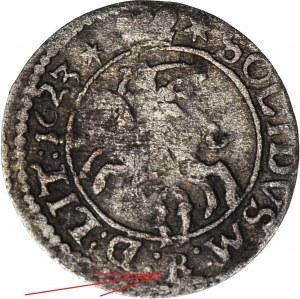 R-, Zygmunt III Waza, Szeląg 1623, Wilno, RL, R4