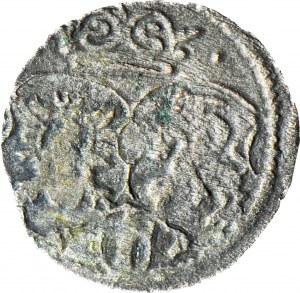 RRR-, Zygmunt III Waza, Denar 1619, Kraków, T. -, R8