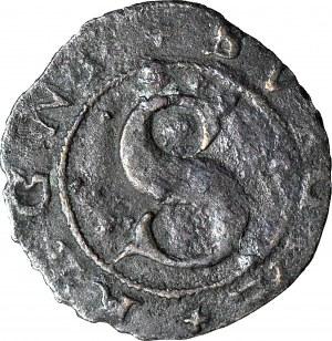 RR-, Zygmunt III Waza, 1 fryk 1593, Sztokholm, b. rzadki