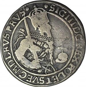RRR-, Zygmunt III Waza, PÓŁTALAR 1630 H-L, Toruń, T.60mk, R8