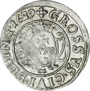 R-, Gustaw II Adolf, Grosz 1629