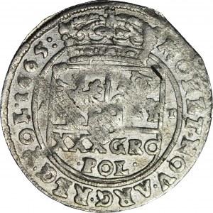RR-, Jan Kazimierz Tymf 1665, Bydgoszcz, błąd SEERVATA