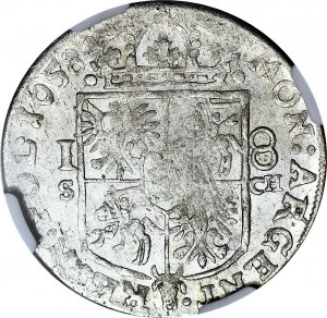 Jan Kazimierz, Ort 1658, Kraków, S-CH-IT, menniczy