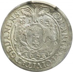 Jan II Kazimierz, Ort 1658, Gdańsk, piękny