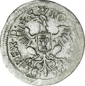 R-, Jan Kazimierz, Dwugrosz 1651, Wschowa, rzadki
