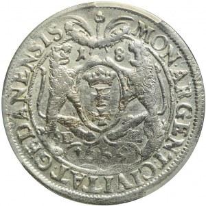 Jan Kazimierz, Ort 1659, Gdańsk, ładny
