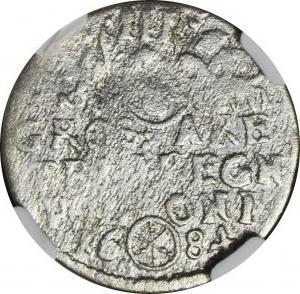 RRR-, Jan III Sobieski, Trojak 1684, Bydgoszcz,błąd ARE zamiast ARG, Iger nie notuje, R8?