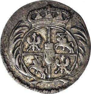 RR-, August III Sas, 1/24 talara 1760 L bez oznaczenia mincerza, b. rzadkie