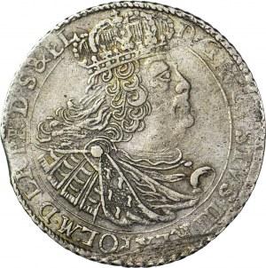 R-, August III Sas, Ort 1760, Gdańsk, Gdańsk, 18 rozdzielona mieczem