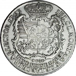 Fryderyk Krystian, Talar 1763 IFôF, S, Lipsk, ładny