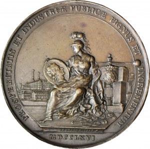 Stanisław A. Poniatowski, Medal otwarcie Mennicy Warszawskiej/reforma monetarna 1766, Holzhaeusser