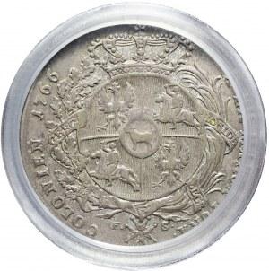 Stanisław A. Poniatowski, Talar 1766, zbrojarz