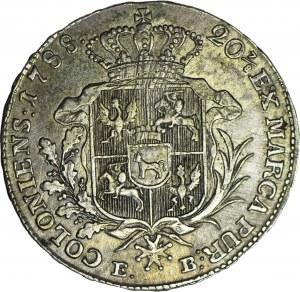 Stanisław A. Poniatowski, Półtalar 1788