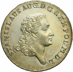 Stanisław A. Poniatowski, Dwuzłotówka 1767, piękna