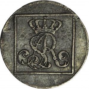 Stanisław A. Poniatowski, Grosz srebrny (srebrnik), 1766, Warszawa