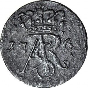 RR-, Stanisław A. Poniatowski, Szeląg 1765, Toruń, rzadki R6