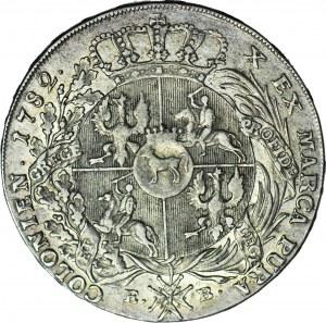 RR-, Stanisław A. Poniatowski, Talar 1782, bardzo rzadki, nakład 1542szt.