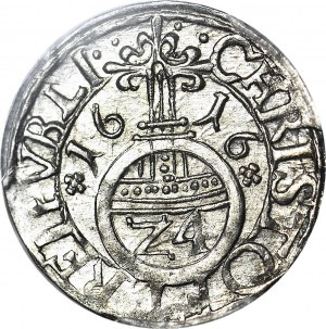 Pomorze, Księstwo Szczecińskie, Filip II, Grosz 1616, Szczecin, Kop. R