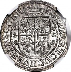 Lenne Prusy Książęce, Jerzy Wilhelm, Ort 1622, Królewiec, w płaszczu