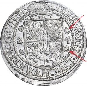 Lenne Prusy Książęce, Jerzy Wilhelm, Ort 1624, Królewiec, NIENOTOWANY