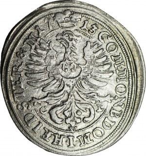 Śląsk, Księstwo Oleśnickie, Karol Fryderyk, 6 krajcarów 1713