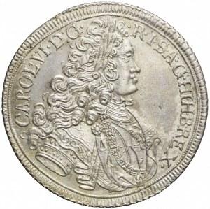 Śląsk, Karol VI, Talar 1717, Wrocław, piękny